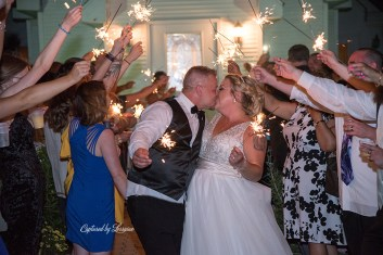 Chapel in the Pines Wedding Sparkler Exit-906