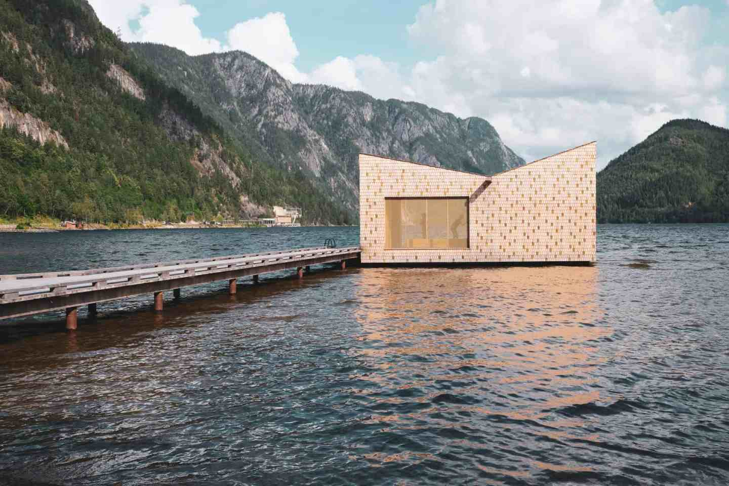 Soria Moria Sauna in Dalen, Norway