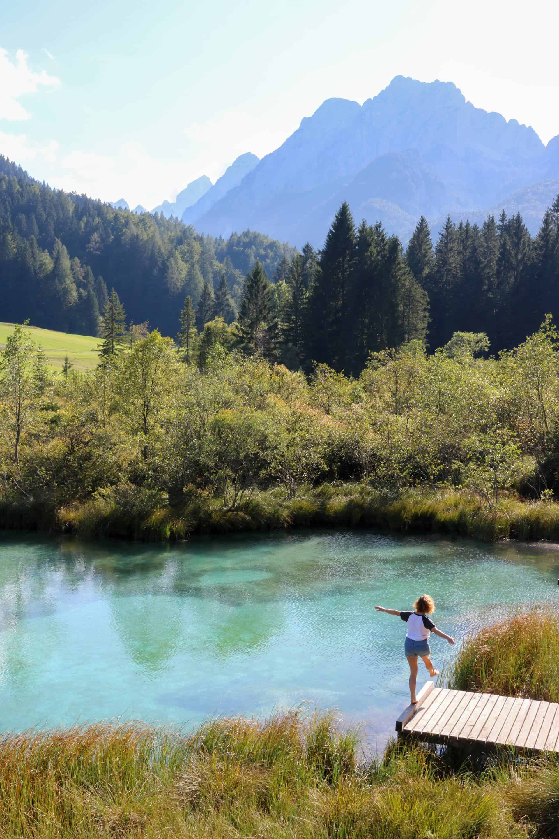 Zelenci Nature Reserve one of the most beautiful places in slovenia