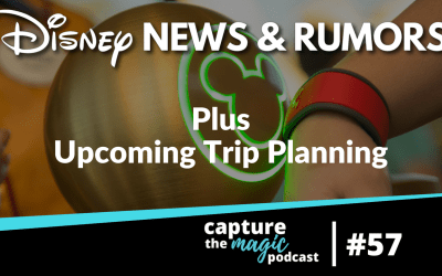 Ep 57: Disney News + Jared's Trip Preview