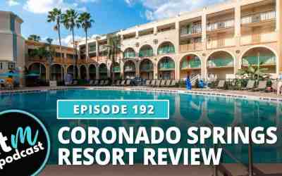 Ep 192: Coronado Springs Resort Review