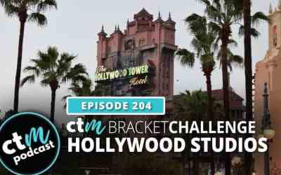Ep 204: CTM Bracket Challenge – Hollywood Studios