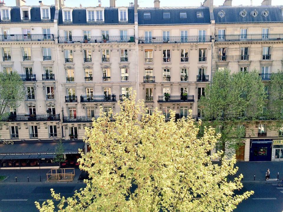 Vue de ma chambre - Parizienne hôtel Paris  © Capucineee.com