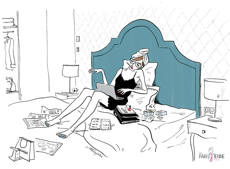 Où dormir dans un hôtel girly à Paris ?