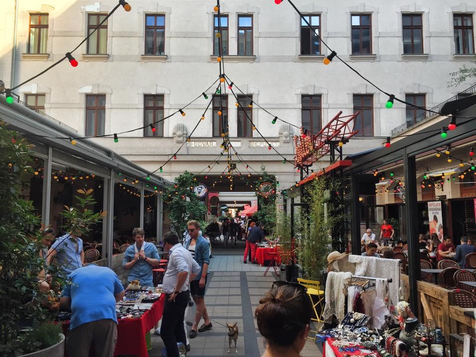 Quartier juif - Budapest  © Capucineee.com