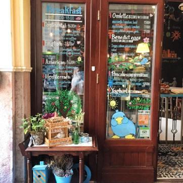 Blue bird cafe © Capucineee.com