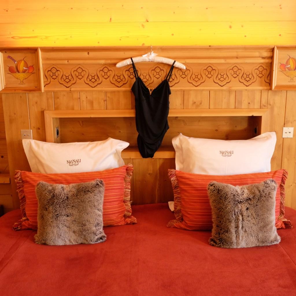 Photo prise à l'hôtel Manali pendant mon séjour en décembre