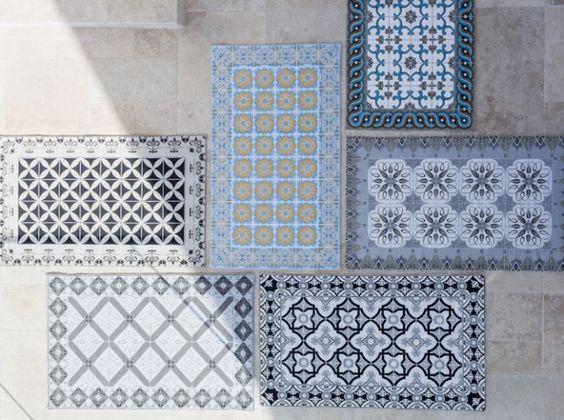 Les sets de table Marinette Saint Tropez