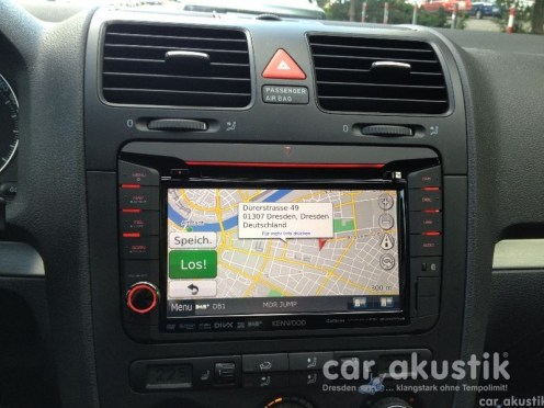 Kenwood DNX521DAB im Golf 5