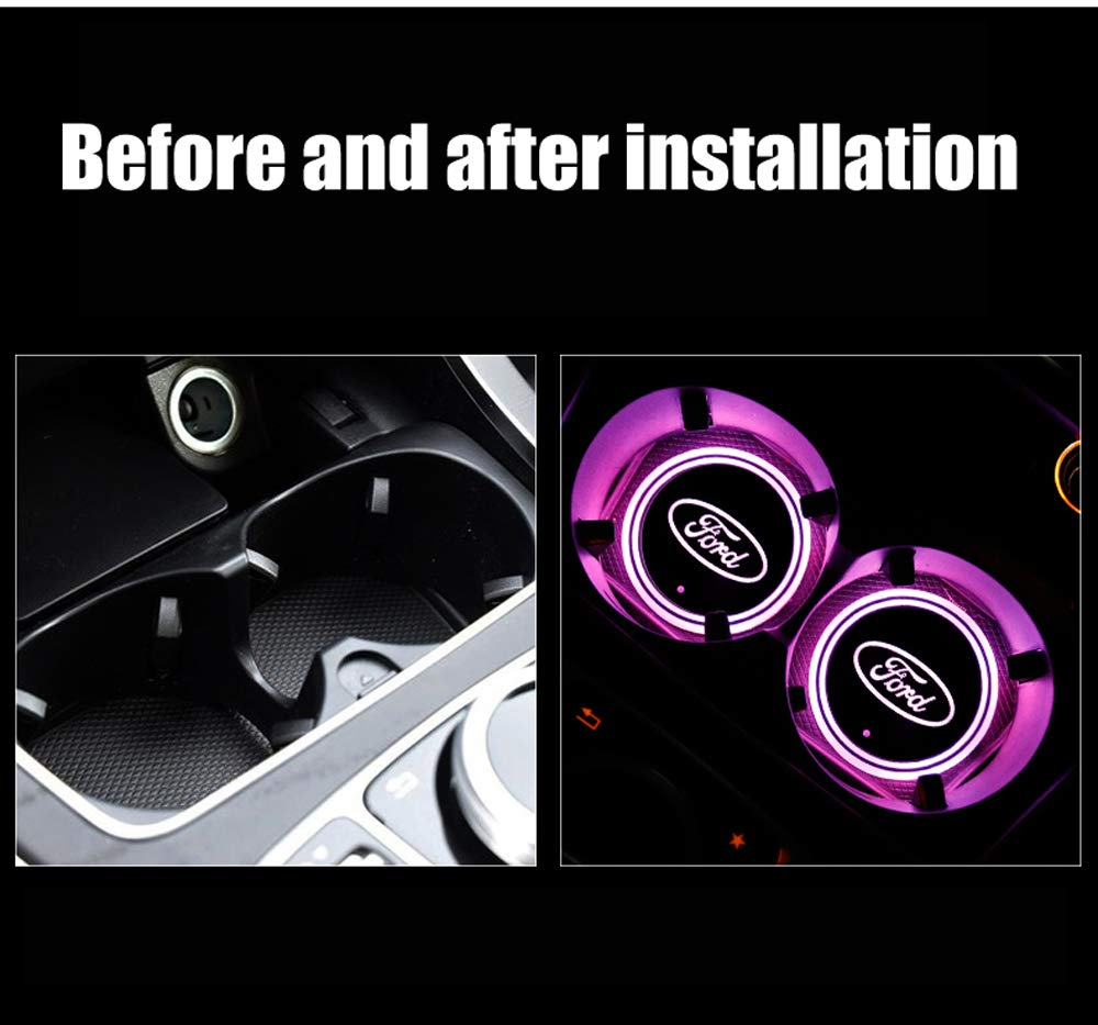 Upgraded Car Door Projector Shadow Ghost HD LED Lights For Trump 2020 Keep America Great Car Door Projector for all Vehicle 2 Pack