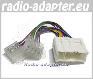 Nissan XTrail 2001  2004 Car Radio Wire Harness, Wiring ISO Lead  Car Hifi Radio Adaptereu