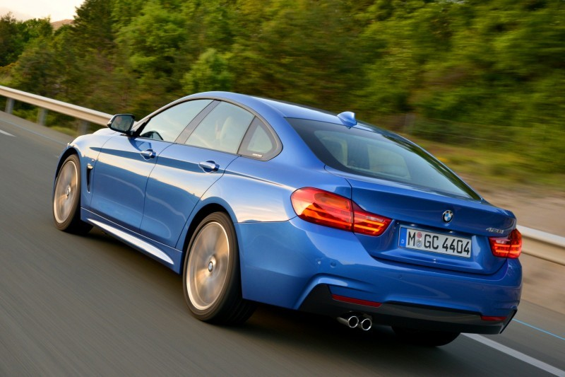 100 New Photos - 2015 BMW 428i and 435i Gran Coupe Are Segment-Busting AWD 4-Doors 19