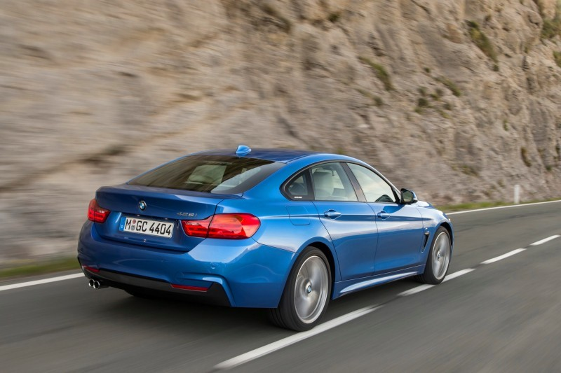 100 New Photos - 2015 BMW 428i and 435i Gran Coupe Are Segment-Busting AWD 4-Doors 2