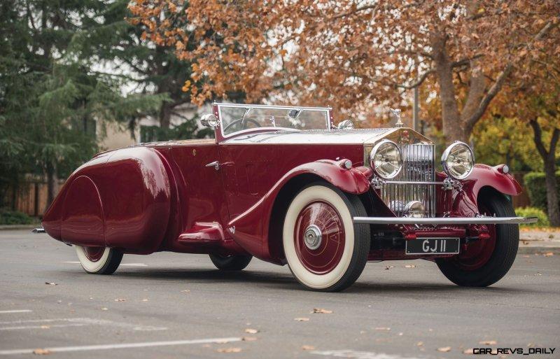 1930 Rolls-Royce Phantom II Torpedo Sports by Barker 1