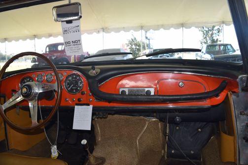 1963 Maserati 3500GTi Interior 10