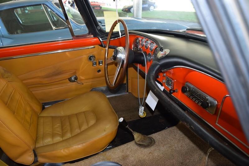 1963 Maserati 3500GTi Interior 9