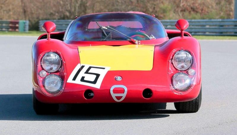 1968 Alfa Romeo Tipo 33-2 Daytona RM Auctions MONACO 2014 20