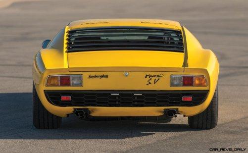 1971 Lamborghini Miura P400 SV 13