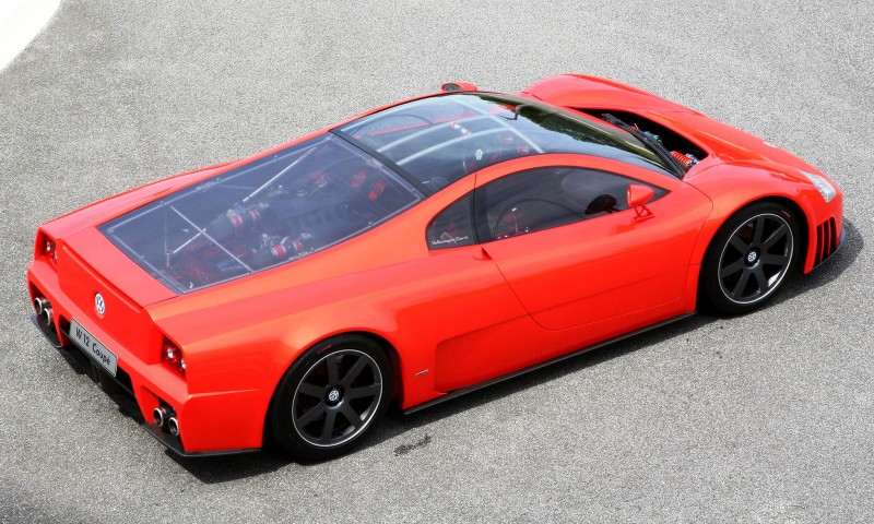 2001 Volkswagen W12 Coupe Concept Introduces Huge Engine and Hypercar Performance to VW Lore 12