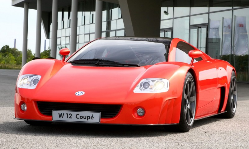 2001 Volkswagen W12 Coupe Concept Introduces Huge Engine and Hypercar Performance to VW Lore 16