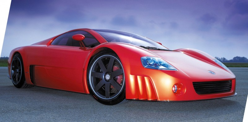 2001 Volkswagen W12 Coupe Concept Introduces Huge Engine and Hypercar Performance to VW Lore 20