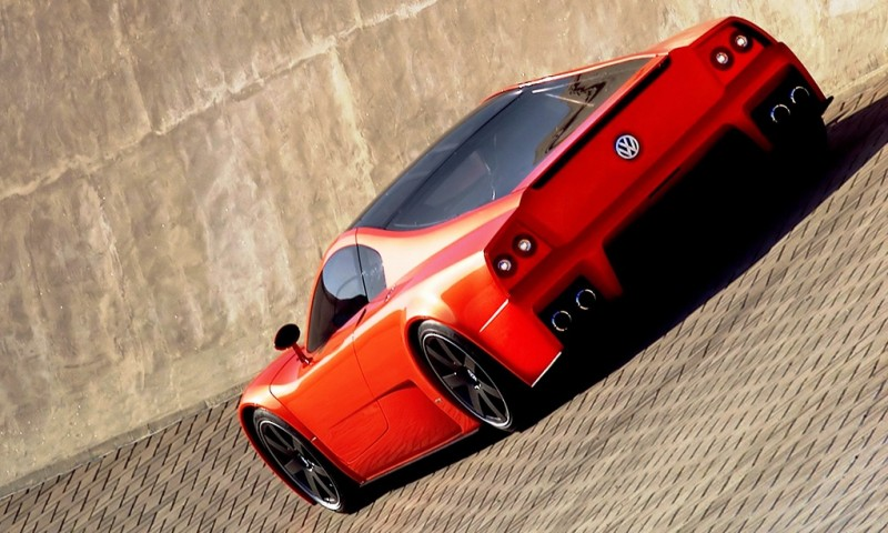 2001 Volkswagen W12 Coupe Concept Introduces Huge Engine and Hypercar Performance to VW Lore 5