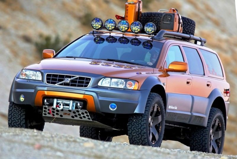 2005 Volvo XC70 AT and 2007 XC70 Surf Rescue are California Surf'n'Turf Dreams 2