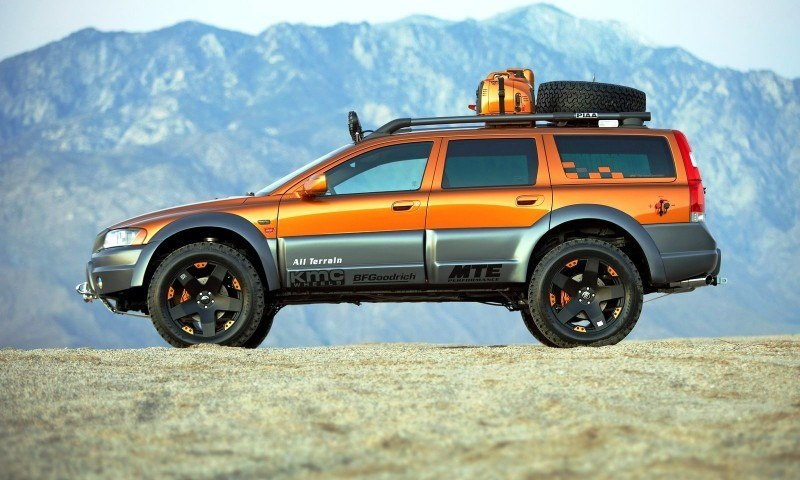 2005 Volvo XC70 AT and 2007 XC70 Surf Rescue are California Surf'n'Turf Dreams 5