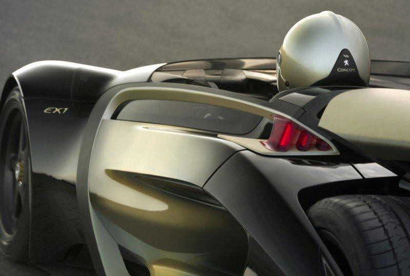 2011 Peugeot EX1 is Part EV, Part Quad-Bike and Part Track-Day Supercar 13
