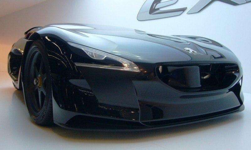 2011 Peugeot EX1 is Part EV, Part Quad-Bike and Part Track-Day Supercar 31