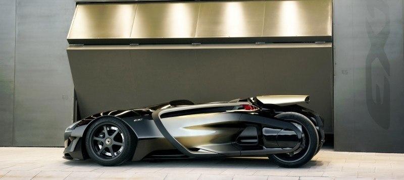 2011 Peugeot EX1 is Part EV, Part Quad-Bike and Part Track-Day Supercar 5