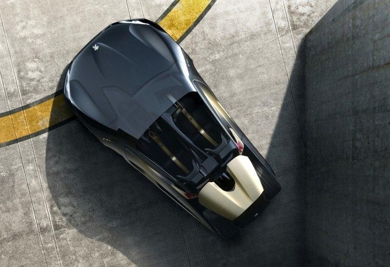 2011 Peugeot EX1 is Part EV, Part Quad-Bike and Part Track-Day Supercar 9