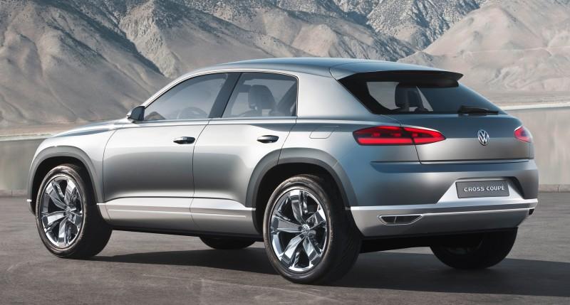 2011 Volkswagen Cross Coupe SUV Concept 27