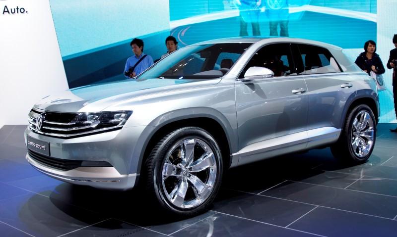 2011 Volkswagen Cross Coupe SUV Concept 3