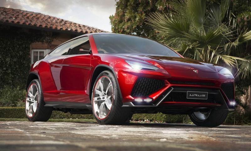 2012 Lamborghini Urus Concept 2