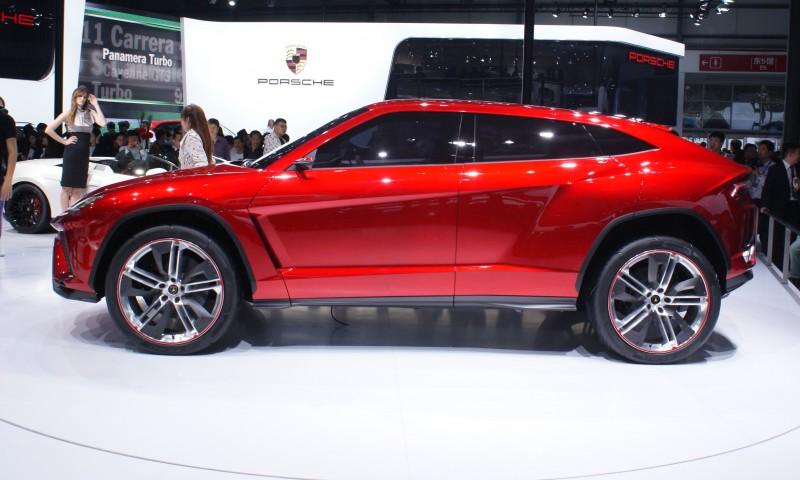 2012 Lamborghini Urus Concept 22