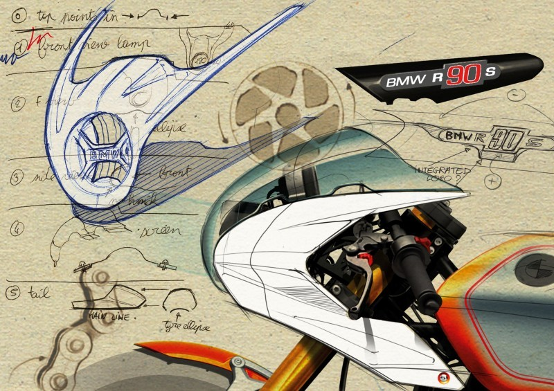2013 BMW R90S Concept Celebrates 40 Years of the R90 and 90 Years Making Bikes 4