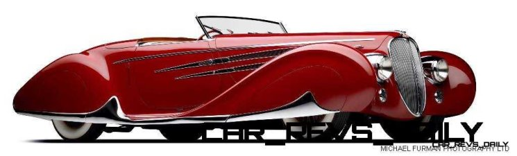 1939 Delahaye 165 V-12 Cabriolet at Mullin Auto Museum1
