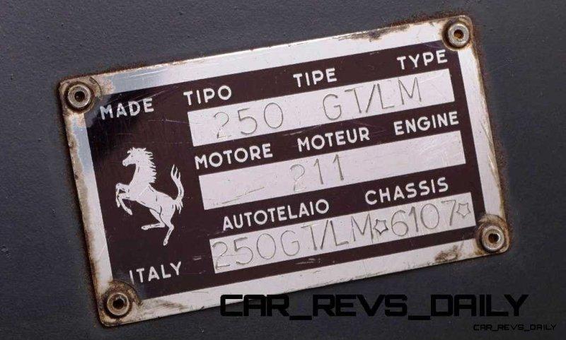 1964 Ferrari 250 LM by Carrozzeria Scaglietti6
