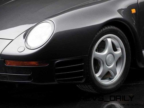 1988 Porsche 959 Komfort RM Auctions DD 20137