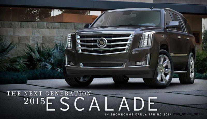 2015 Cadillac Escalade In-Depth Review + Mega Galleries53