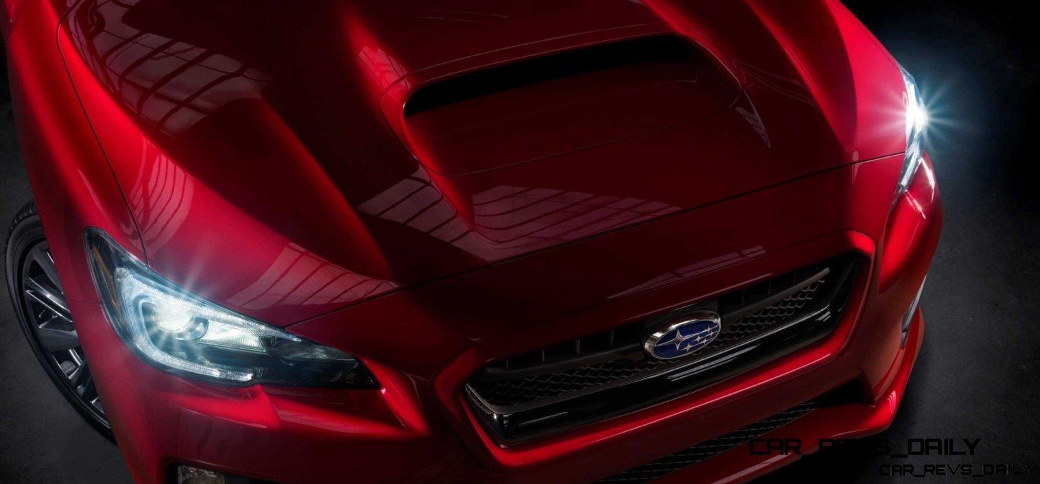 2015 Subaru WRX Nears 270 Horsepower, Looks Hot20
