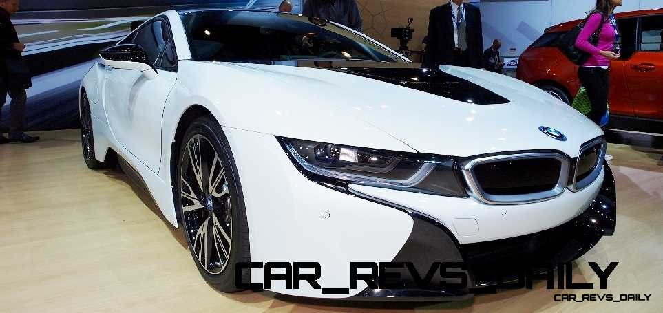 2015 BMW i8 in Crystal White