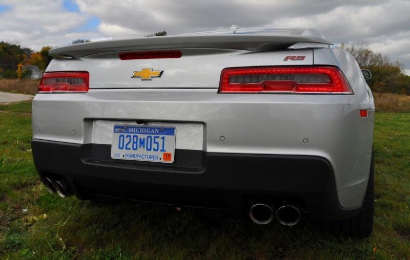 CarRevsDaily.com - 2014 Chevy Camaro 2LT RS 14