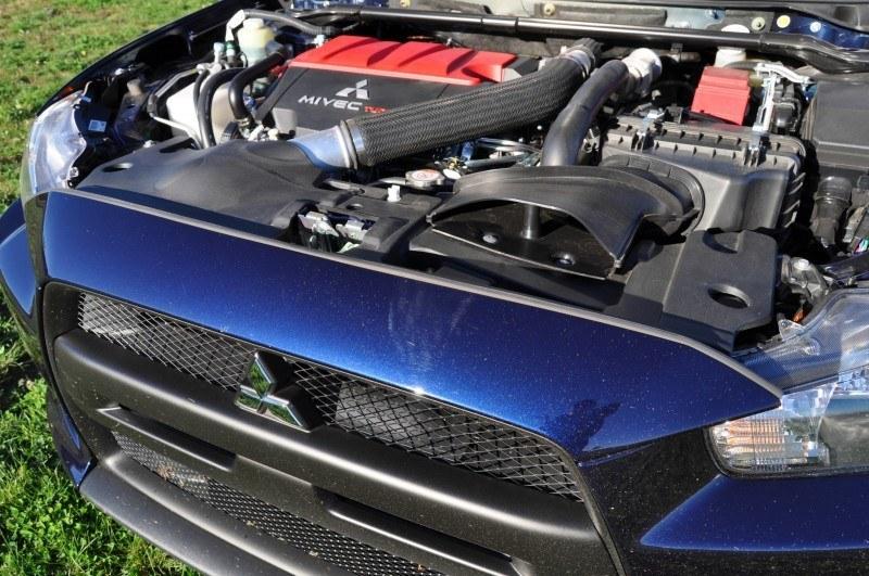 CarRevsDaily.com - 2014 Mitsubishi Lancer Evolution GSR18