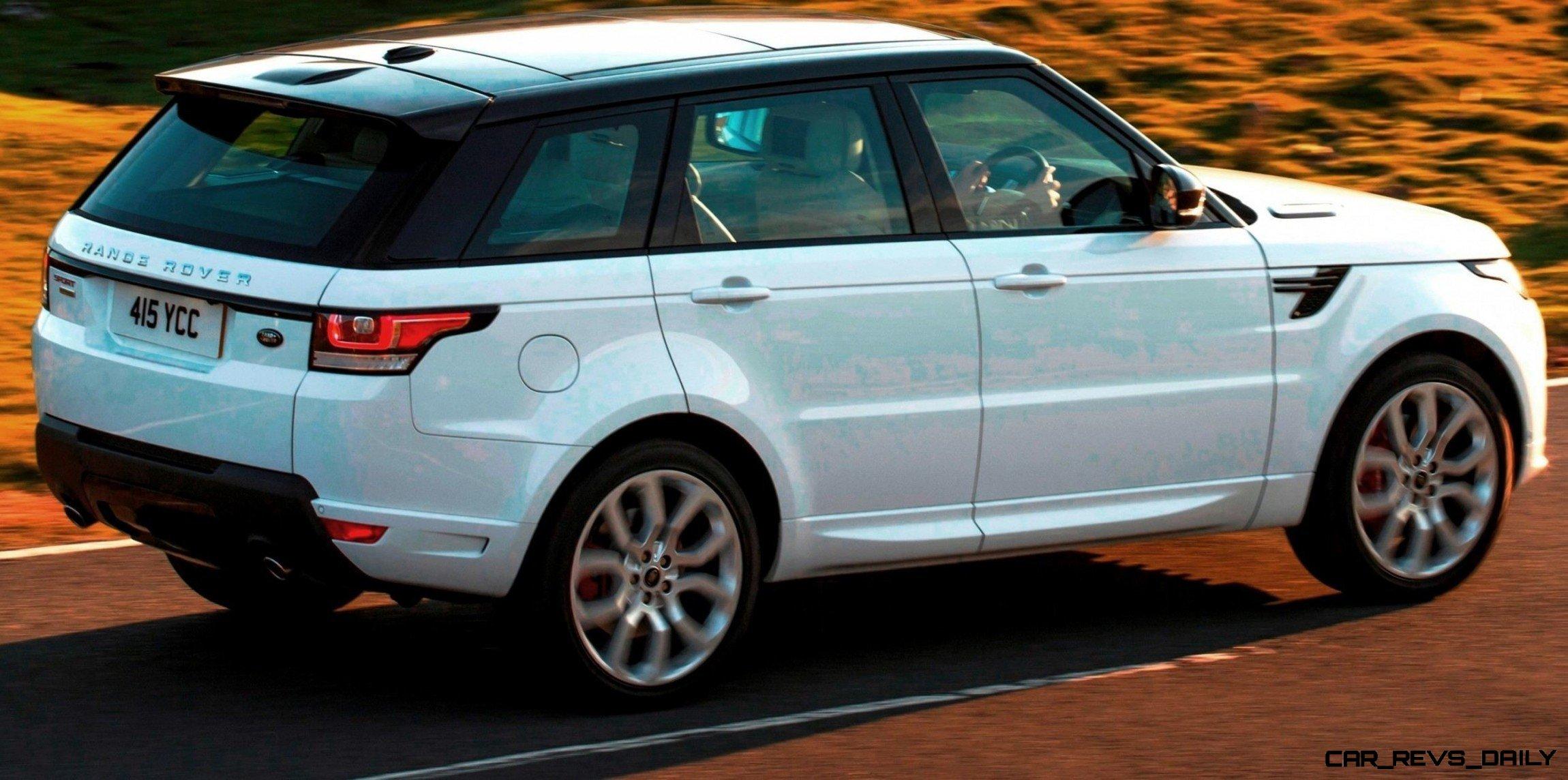 Fun Car Art 2014 Range Rover Sport Autobiography in Fuji White