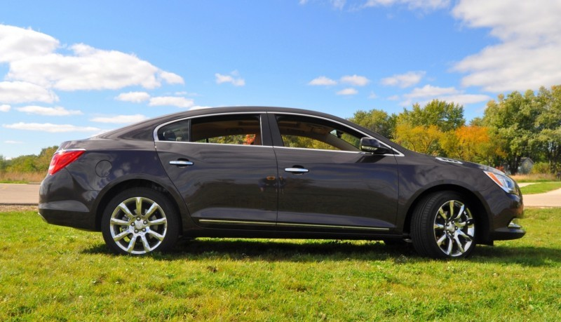 Driven Car Review - 2014 Buick LaCrosse Is Huge, Smooth and Silent13