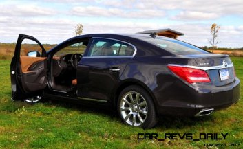 Driven Car Review - 2014 Buick LaCrosse Is Huge, Smooth and Silent2
