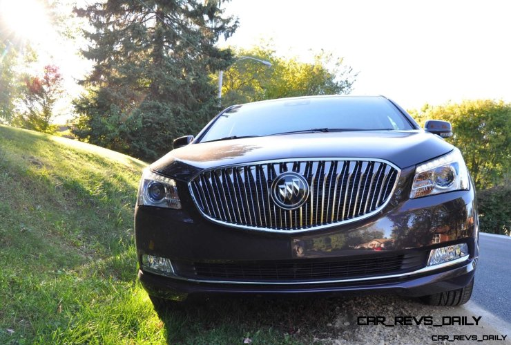 Driven Car Review - 2014 Buick LaCrosse Is Huge, Smooth and Silent34