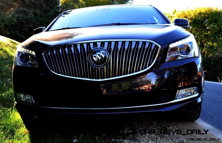 Driven Car Review - 2014 Buick LaCrosse Is Huge, Smooth and Silent35
